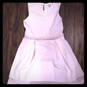 Gorgeous Girls Dress Beading Monteau Girl